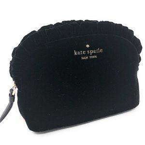 Kate Spade Marcy Dawn Place  Velvet Mini Clutch